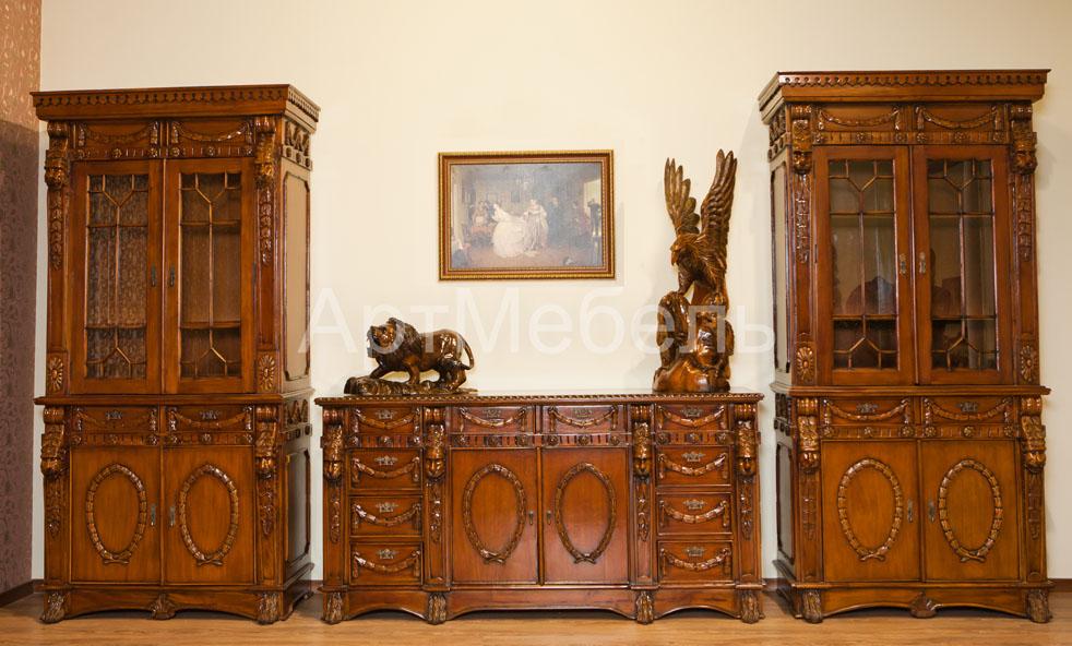 мебель для гостиной набор для гостинойкабинета Lion