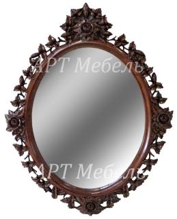 Резное зеркало ROSE